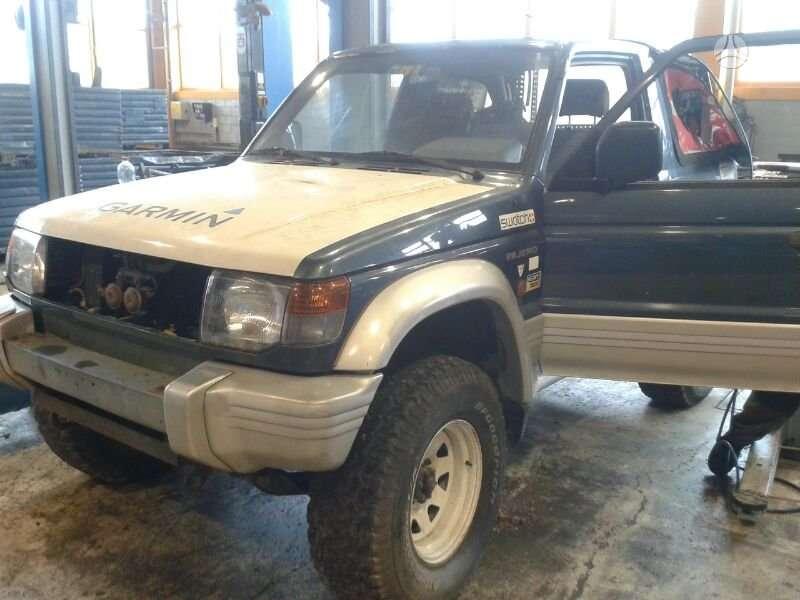 Mitsubishi Pajero. +37065559090 europa is (ch) возможна доста