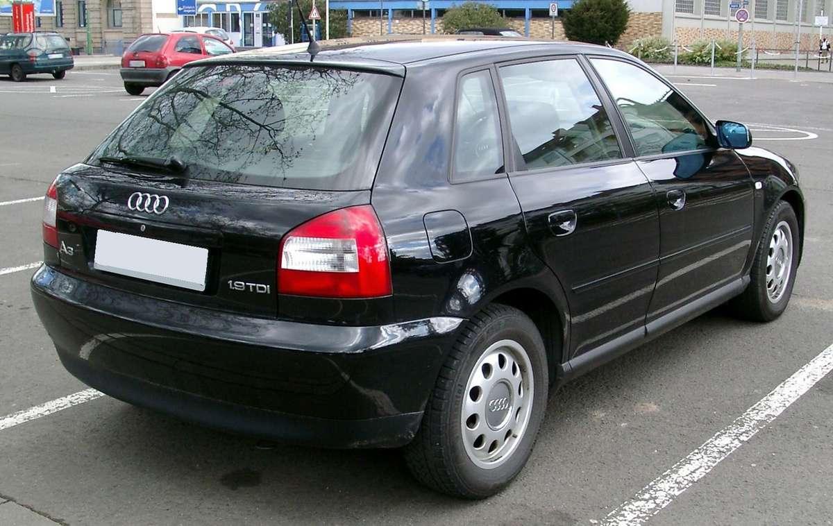 Audi A3 dalimis. 1.9tdi asz  96kw, 6 pavaros,dalimis,kablys