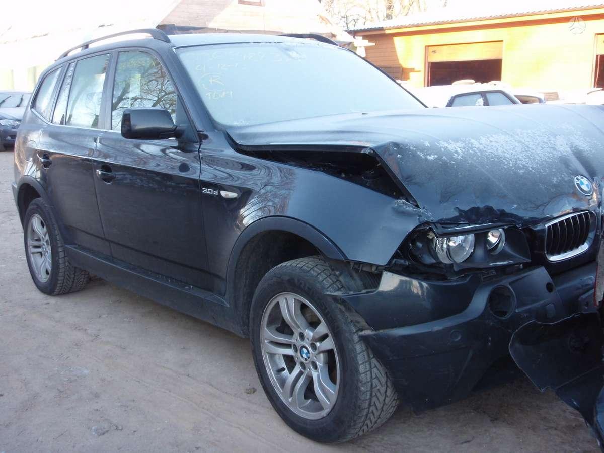 BMW X3 dalimis. Bmw x3 2.5i, 3.0i, 2.0d, 3.0d 2004-2008m.