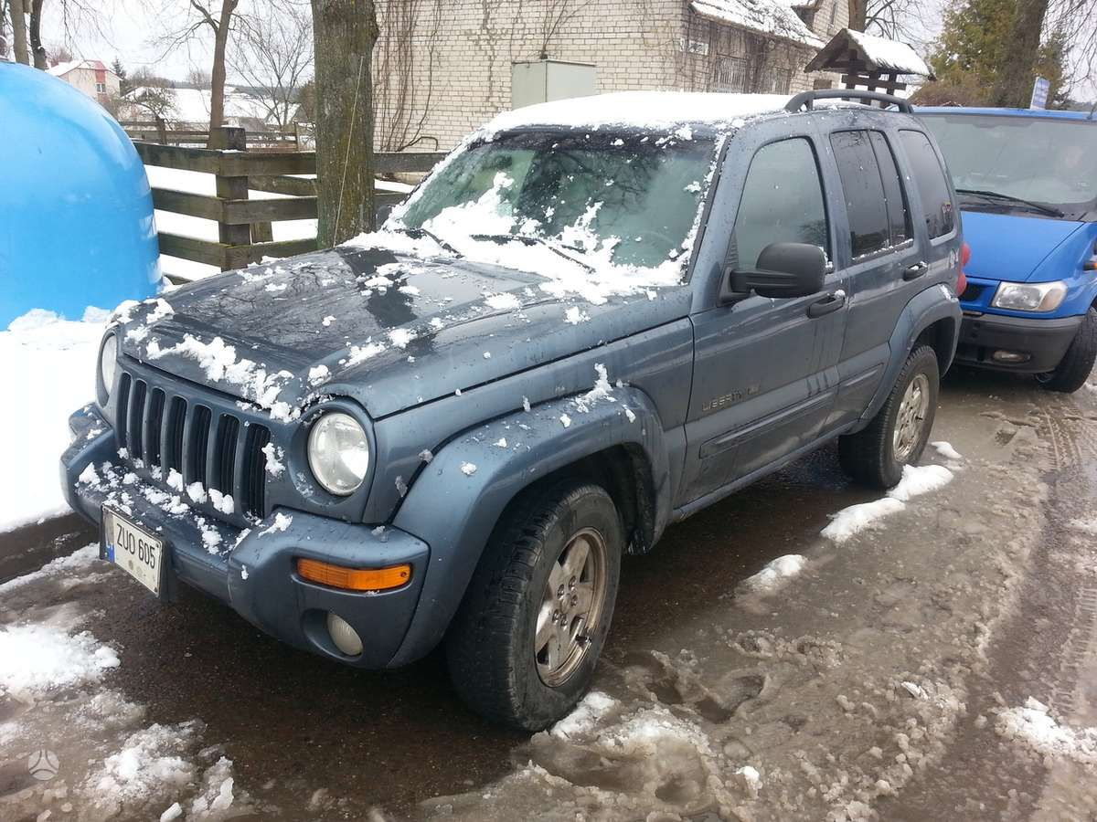 Jeep Cherokee. Amerikietiškų automobilių naudotos dalys ir