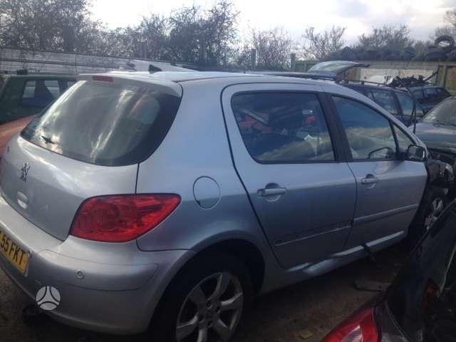 Peugeot 307. Yra daugiau ardomu auto ir varikliu galimas