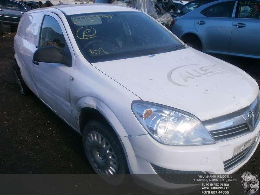Opel Astra dalimis. Naudotos ir naujos automobiliu dalys  opel