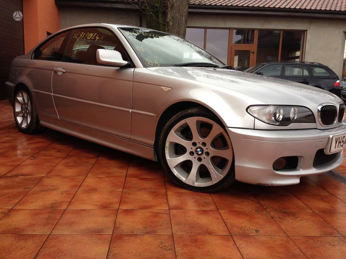 BMW 330 dalimis. Bmw3 e46 coupe, cabrio, sedan, compact, touring