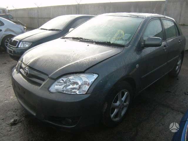 Toyota Corolla dalimis. D4d,85kw, lieti ratai labai gero stovio.