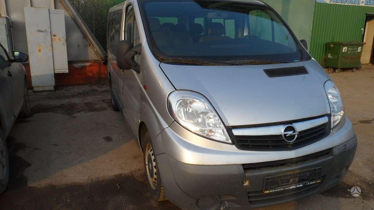Opel Vivaro dalimis. возможна доставка запчастей в росию