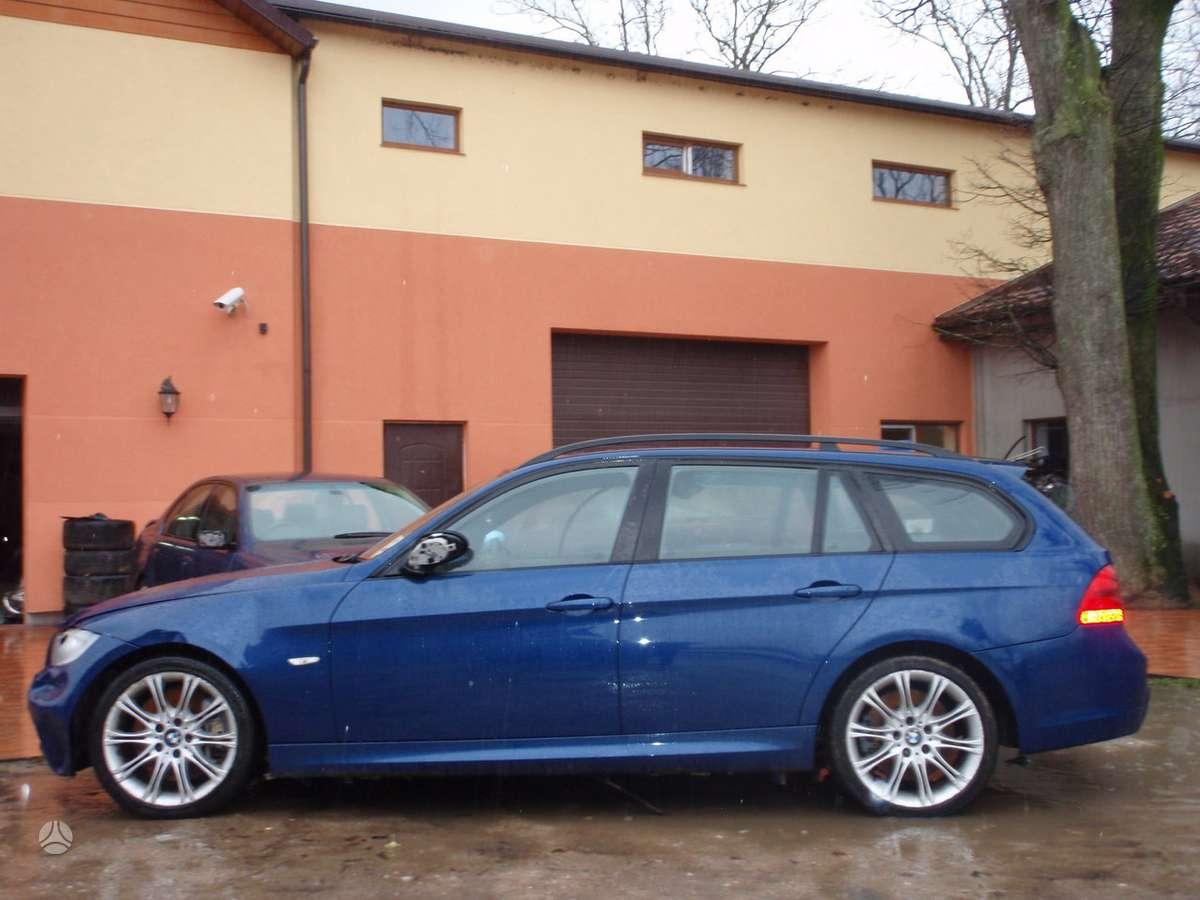 BMW 335 dalimis. Dalimis:  bmw e91lci 320d m touring 2010m.