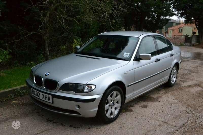 BMW 3 serija dalimis. Multifunkcinis vairas, buferis su