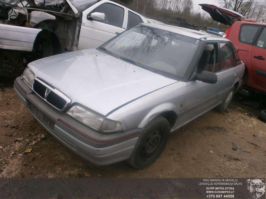 Rover 200 serija dalimis. Automobilis ardomas dalimis:  rover