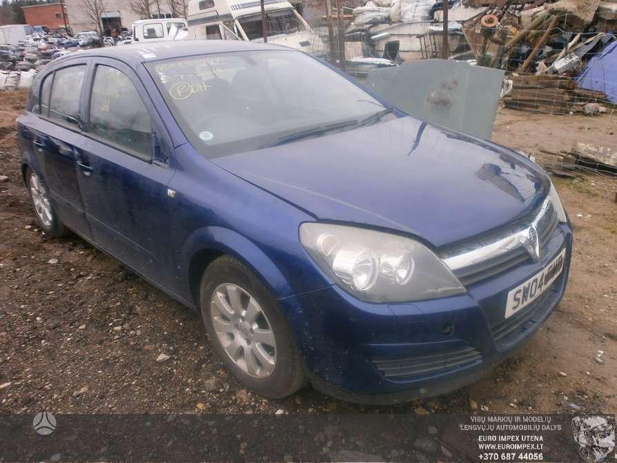 Opel Astra dalimis. Automobilis ardomas dalimis:  opel astra