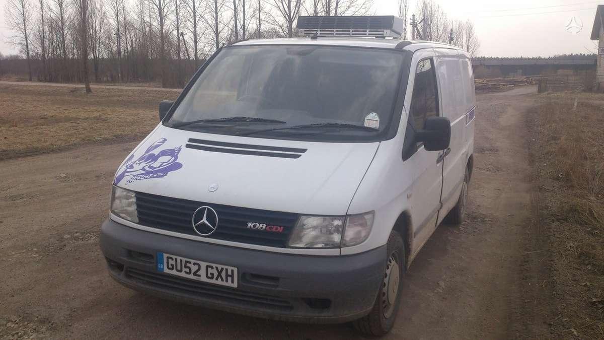 Mercedes-Benz Vito. Saldytuvas