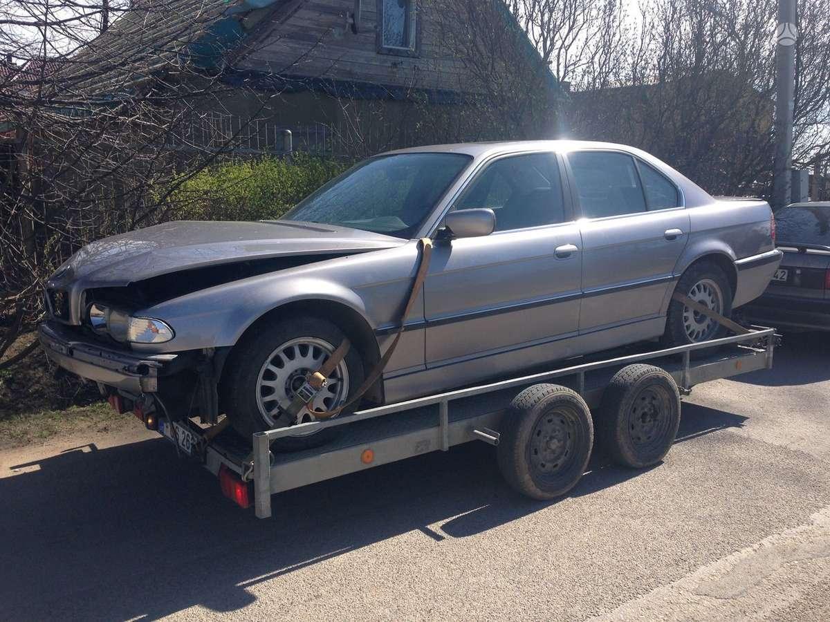 BMW 740 dalimis. Bmw 725tds, 730d, 728i, 730i, 735i, 740i, 740d,