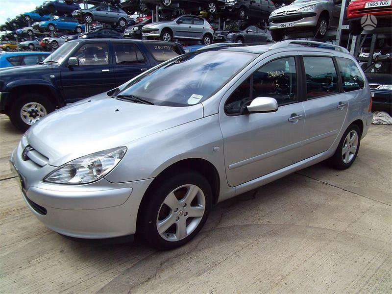 Peugeot 307. Yra ratai r16 ir r17.dar turime 1,6 hdi; . uab