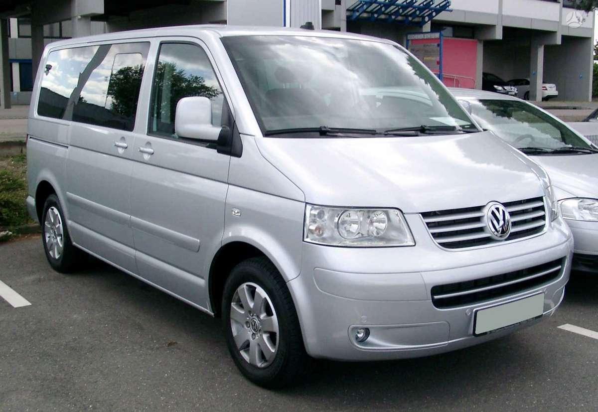 Volkswagen Multivan. Priekiniai sparnai,galine apdaila,pavaru