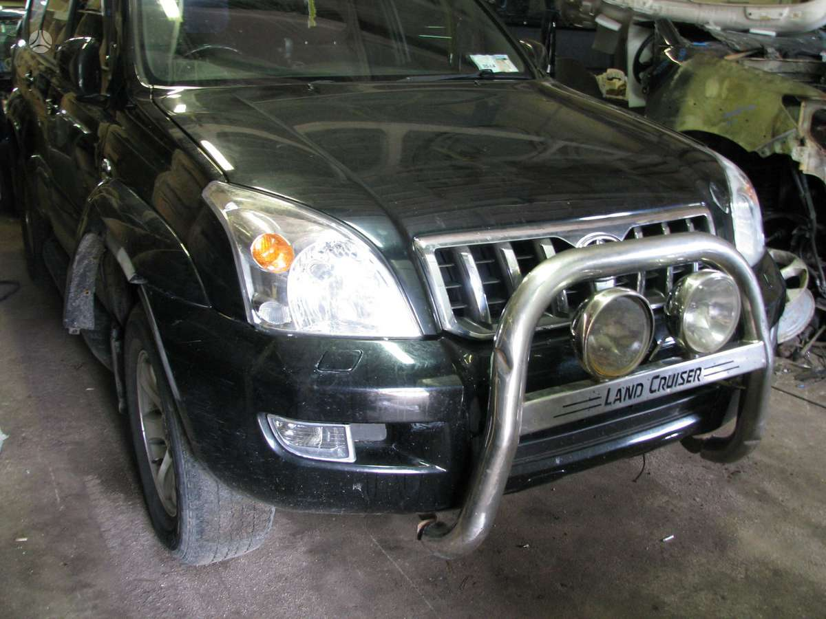 Toyota Land Cruiser dalimis. Is anglijos, srs, abs, lieti