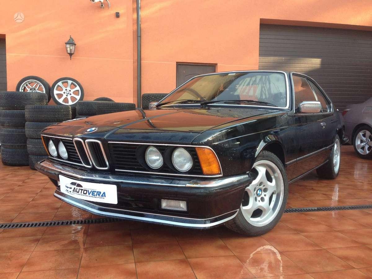 BMW 628 dalimis. Bmw 635csi 1982-1989m. bmw 628csi 1983m. bmw