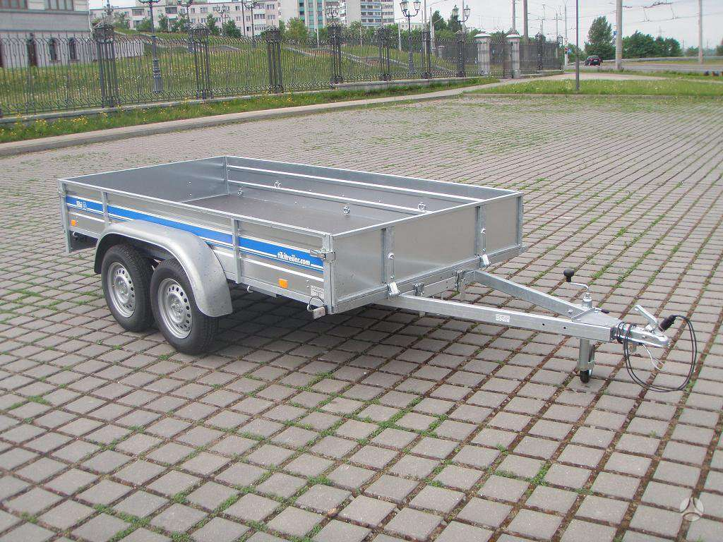 Tiki Treiler CP300DL, lengvųjų automobilių priekabos