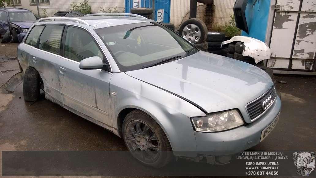 Audi A4 dalimis. Automobilis ardomas dalimis: запасные части авт