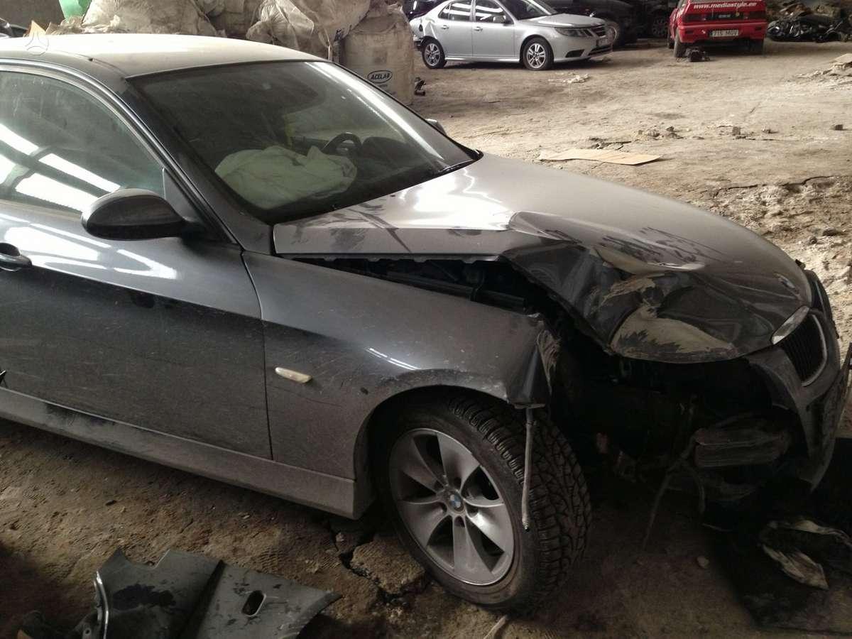 BMW 3 serija. Odinis salonas