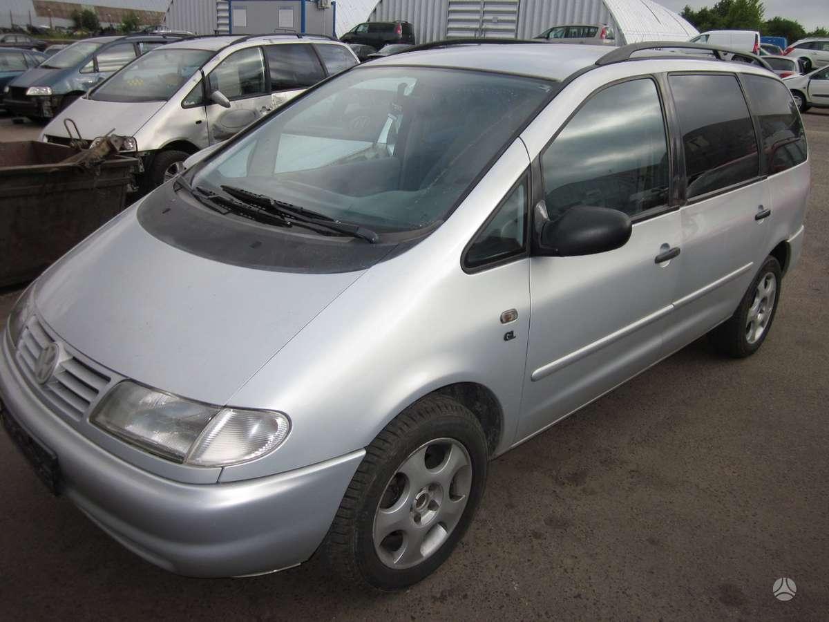 Volkswagen Sharan. Vw sharan dalys - 2.8 vr6 aaa, 1.9tdi 81kw