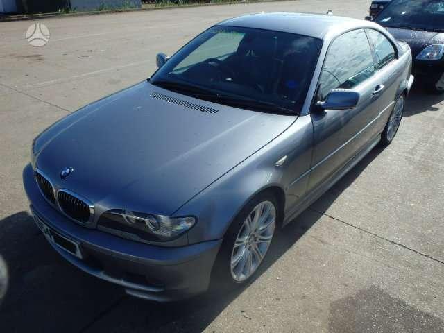 BMW 330 dalimis. Platus bmw ir mercedes - benz daliu