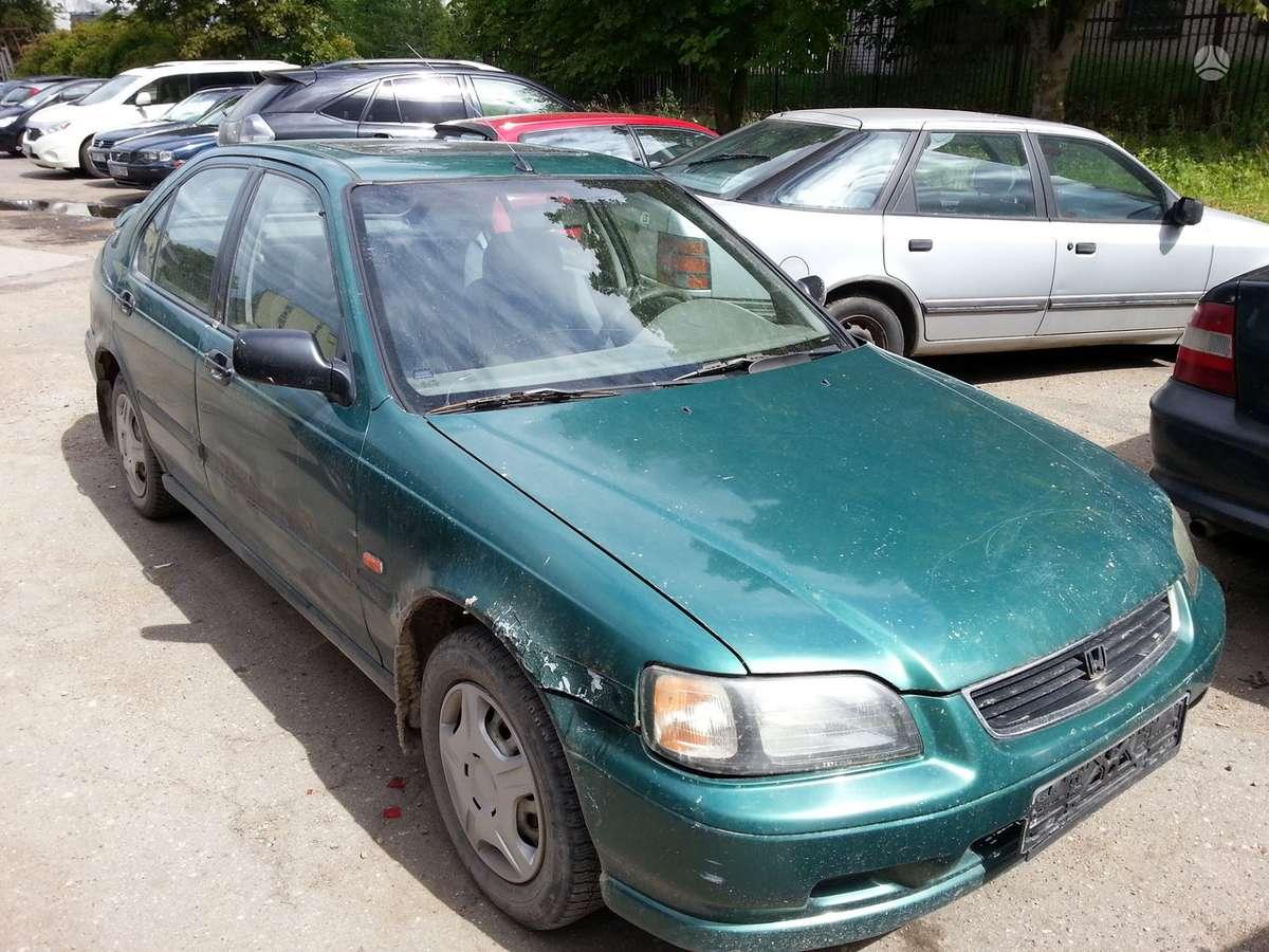 Honda Civic dalimis. Dalimis darbo laikas primadienis-