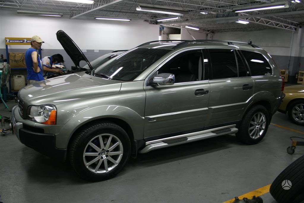 Volvo XC90. Parduodame slenksčiai volvo xc90 oem look.