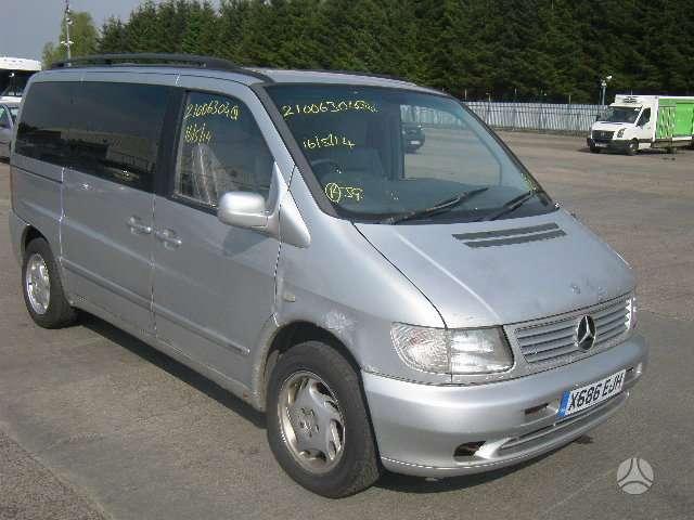Mercedes-Benz Vito dalimis. Platus mercedes - benz daliu