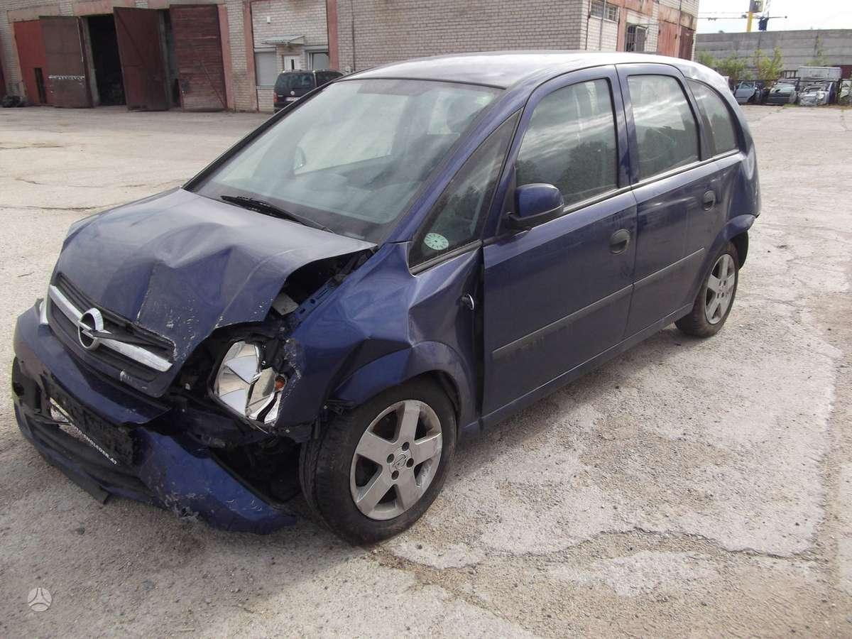Opel Meriva. Dalis pristatome panevėžio mieste ir visoje