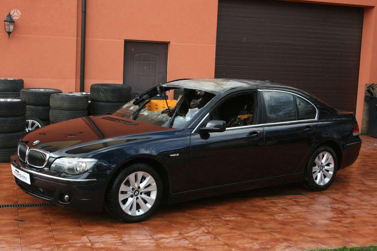BMW 730 dalimis. Bmw730d 2002-2007m. dalimis bmw730i 2004m.