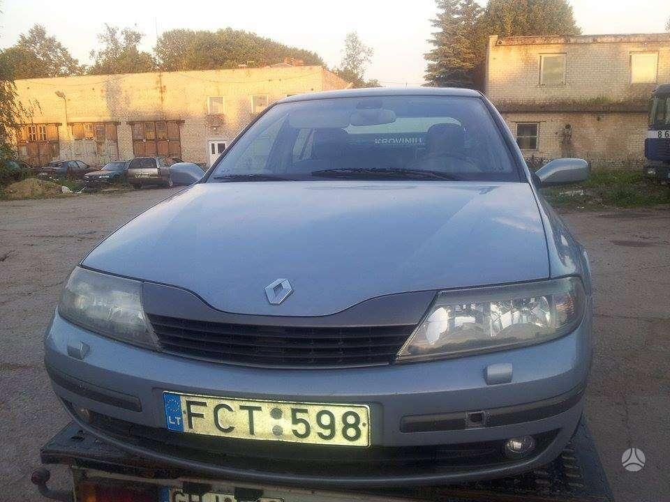 Renault Laguna. pusiau odinis salonas, r16,r17 lieti ratlankiai,