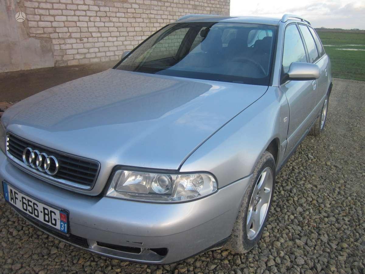 Audi A4. Yra daugiau ardomu auto galimas pristatymas