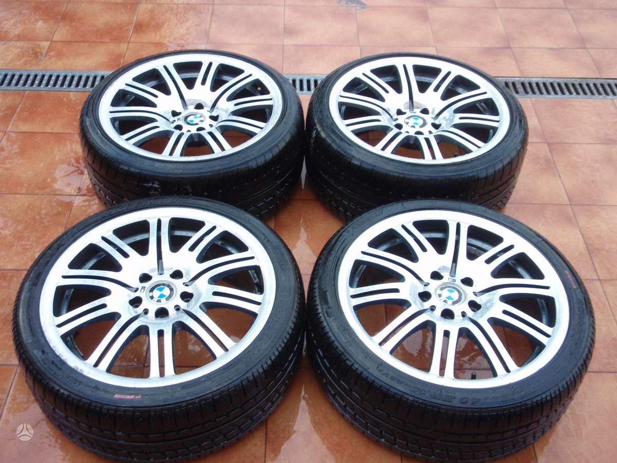 BMW, BMW alloy wheel, M double spok, lengvojo lydinio, R19