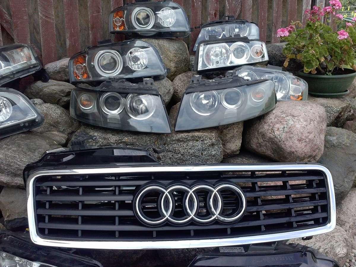 Audi Cabriolet. Pr.buferiai, galiniai buferiai, sparnai, ž