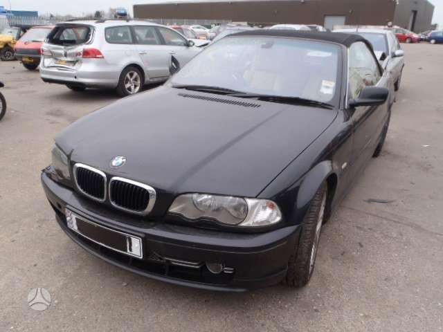 BMW 330. Bmw 330 ci kabrioletas,lieti ratai,automatas,dalimis
