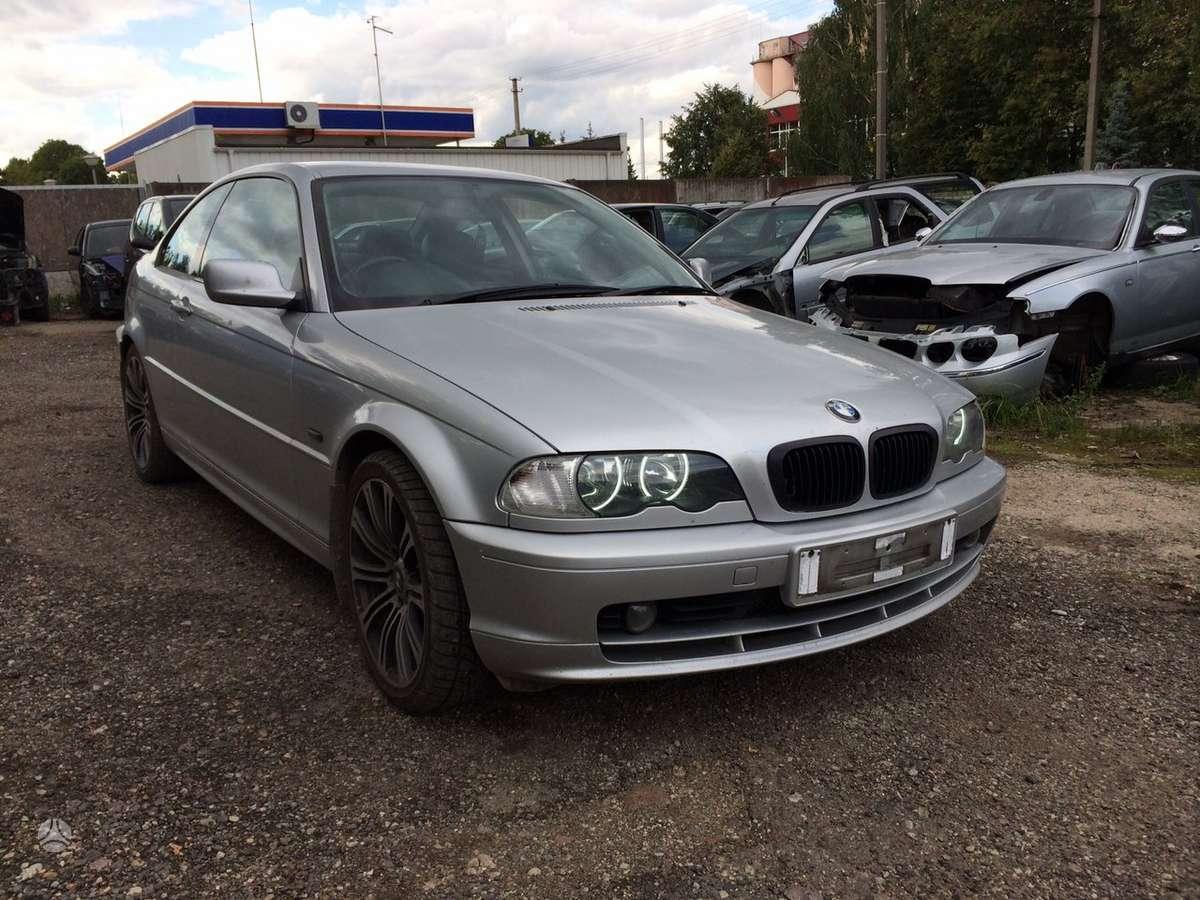 BMW 318. Odinis salonas (pilnai tinka europiniui), r18