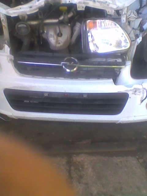 Opel Agila. Abs , 2 el langai.