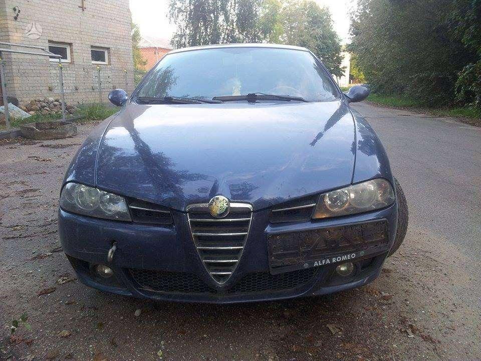 Alfa Romeo 156. 2.4 jtd variklis, mechanine deze, naujesnio