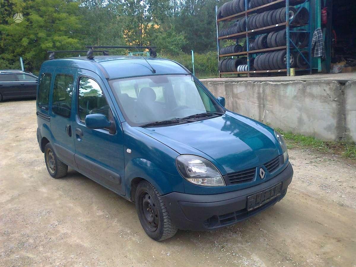 Renault Kangoo dalimis. Europa galimas detalių siuntimas i
