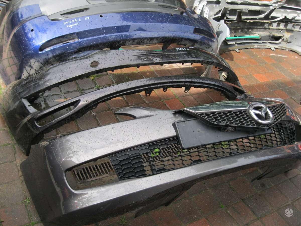 Mazda 6. buferiai .---zibintai--stopai --- groteles---