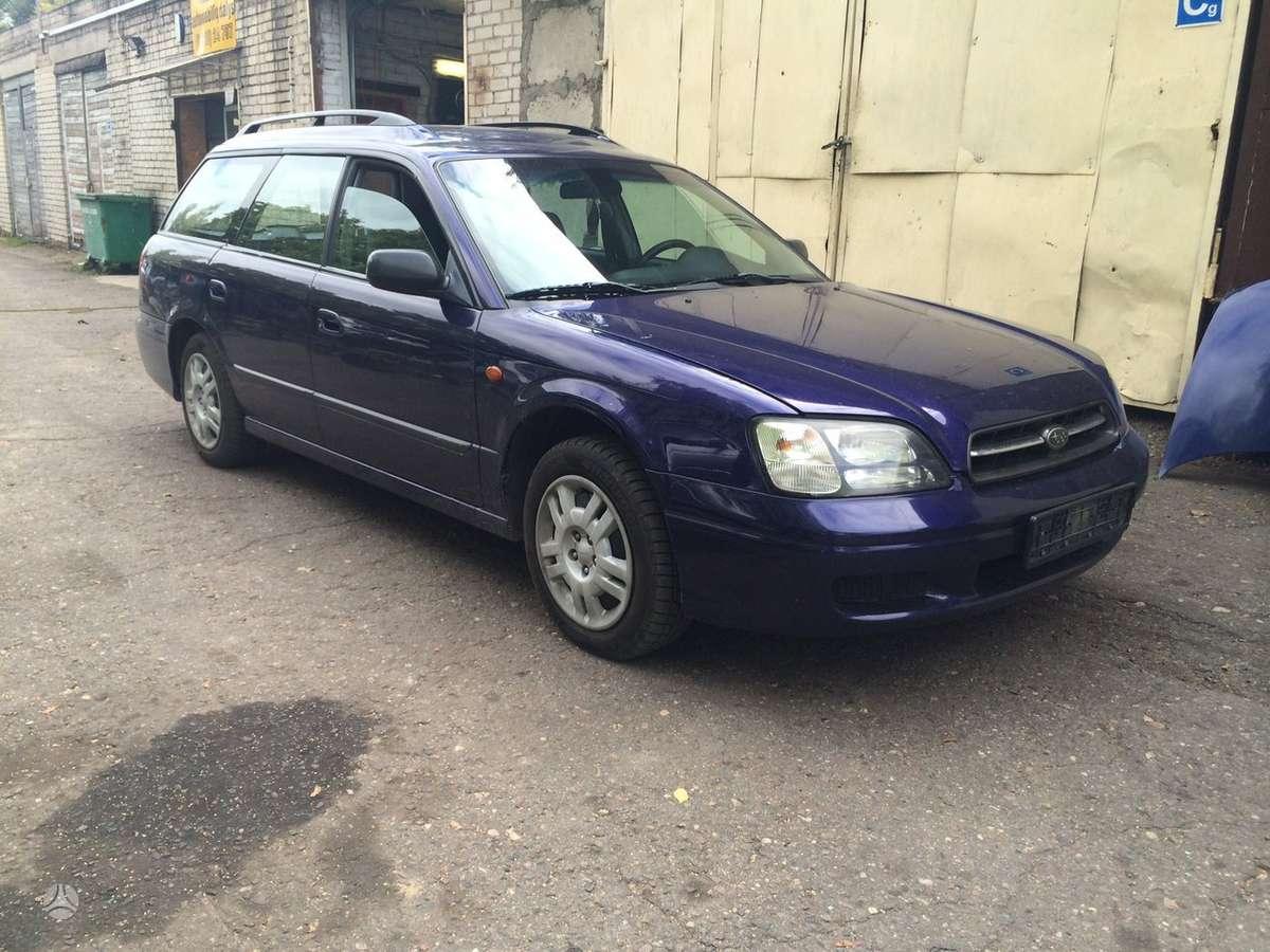Subaru Legacy. Europine  naudotos automobiliu dalys japoniski