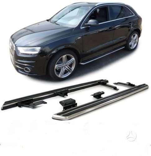 Audi Q3. Naujos tuning dalys. šoniniai slenksčiai audi q3  .vezu