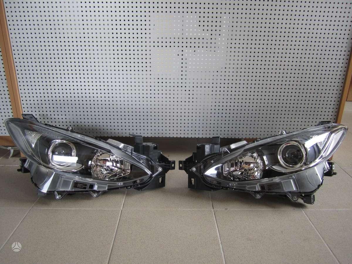 Mazda 3. Naudotos ir naujos japoniškų ir korėjietiškų
