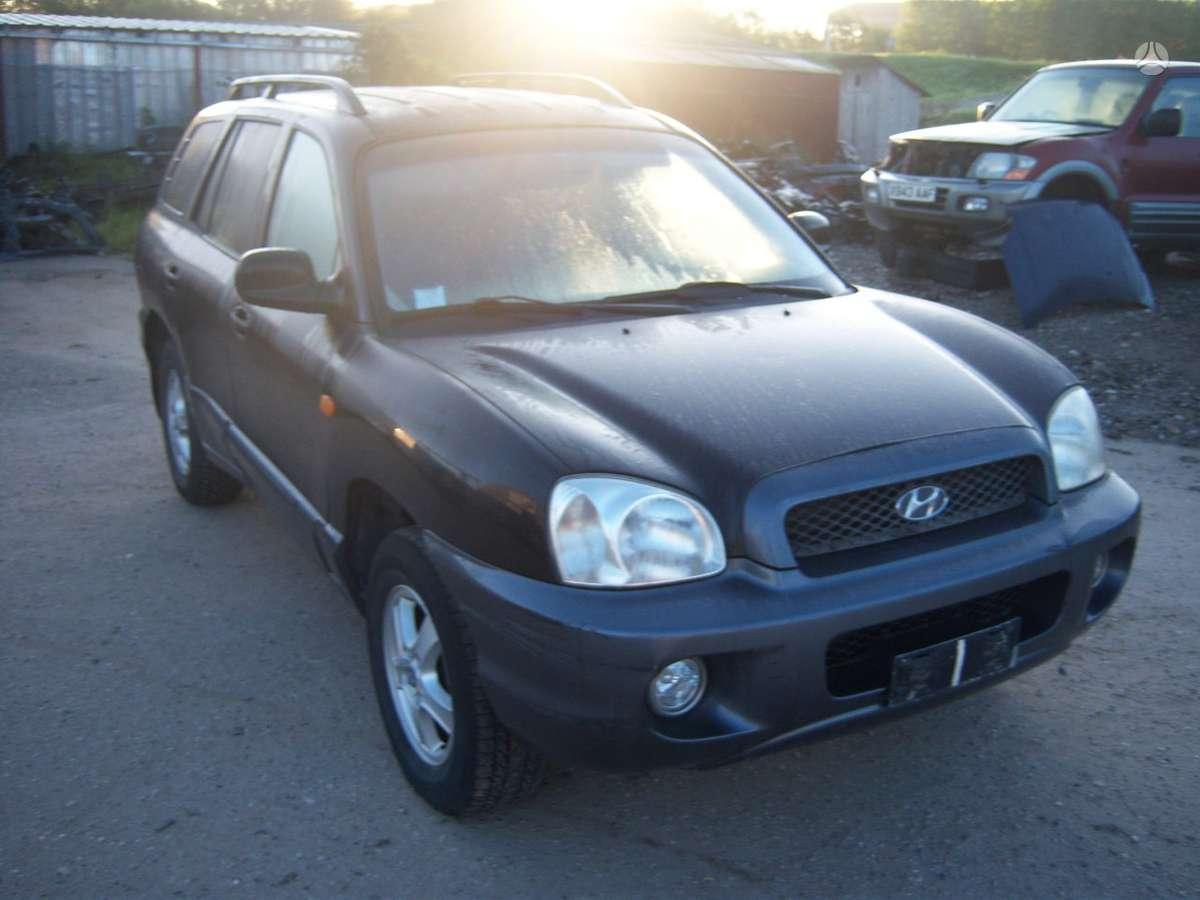 Hyundai Santa Fe dalimis. Europa  4x4  variklis dalimis