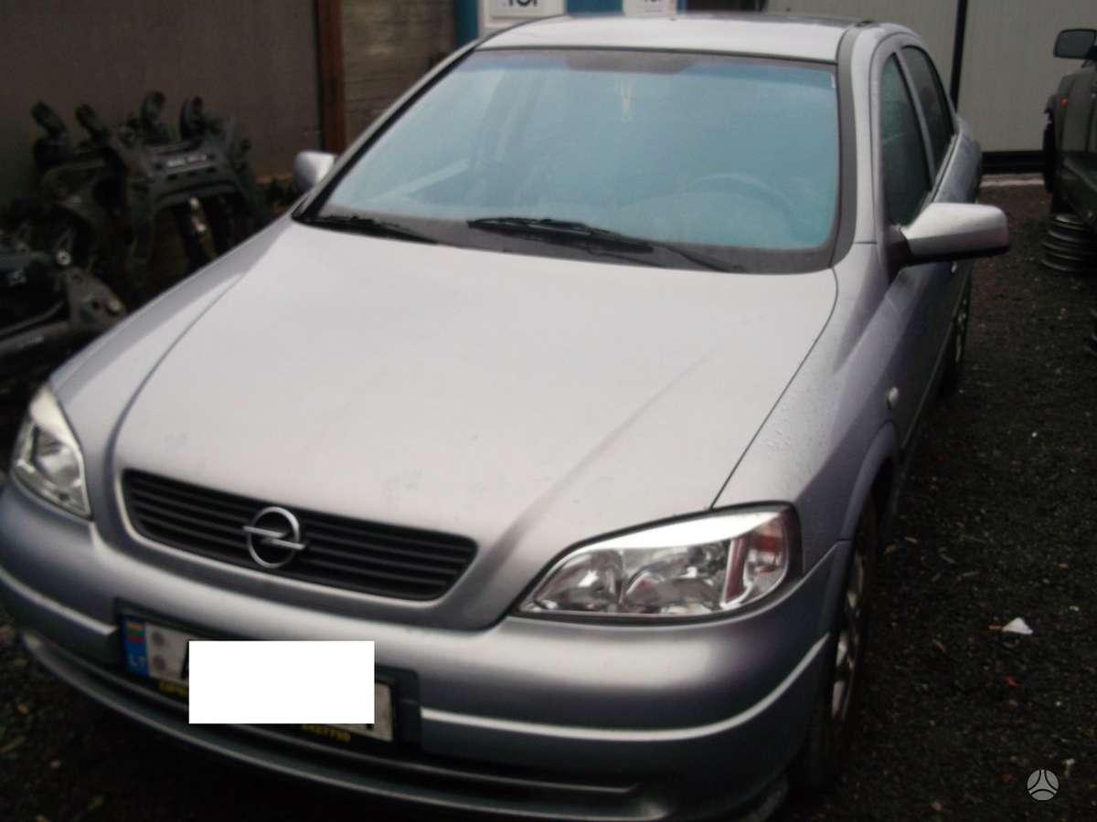 Opel Astra dalimis. Oepl astra 01m.2.0d 74kw,,dalimis,,kainos