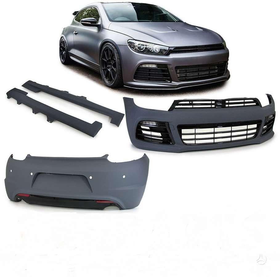 Volkswagen Scirocco. R-styling komplektas.nauji,plastmasiniai [