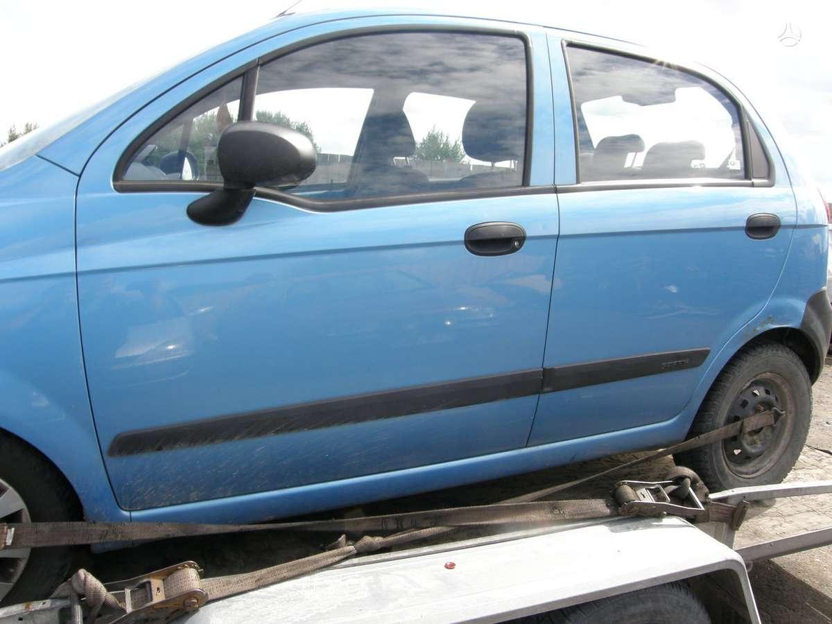 Chevrolet Matiz. Auto dalimis