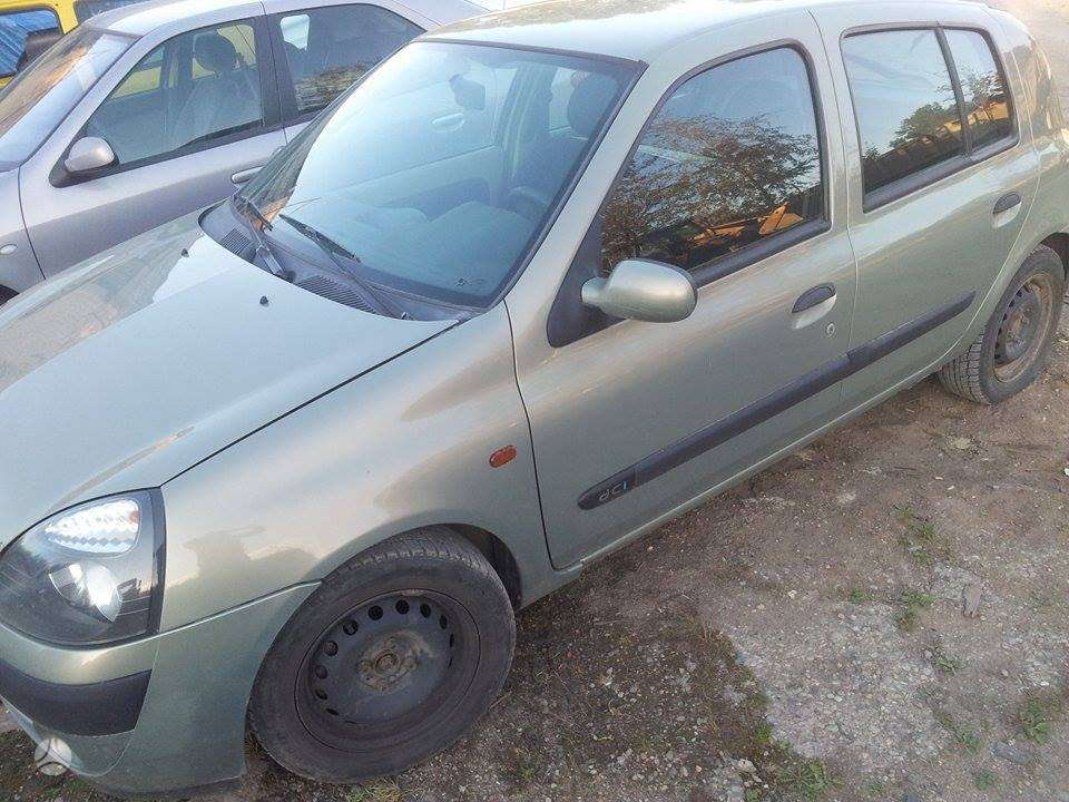 Renault Clio. Viskas veikia.