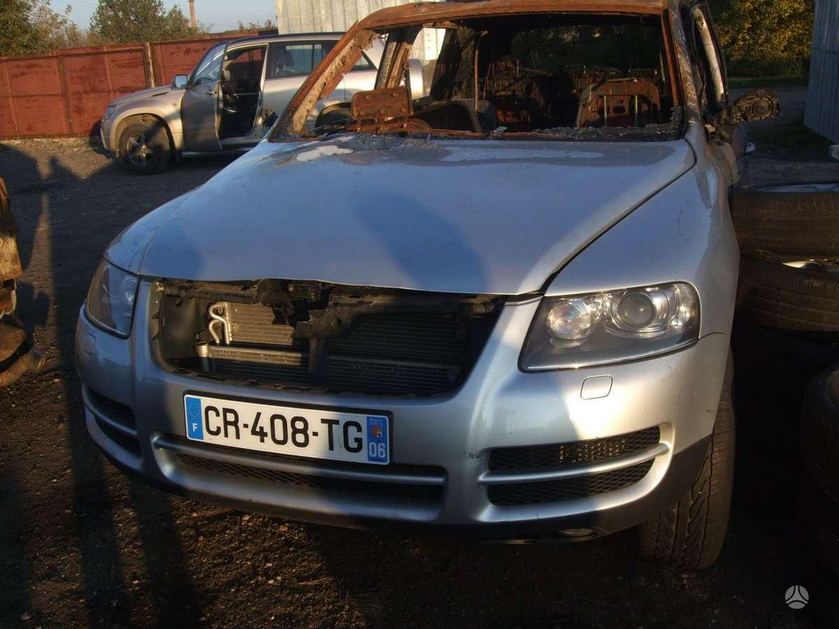 Volkswagen Touareg dalimis. доставка бу запчастей с разтаможкой в