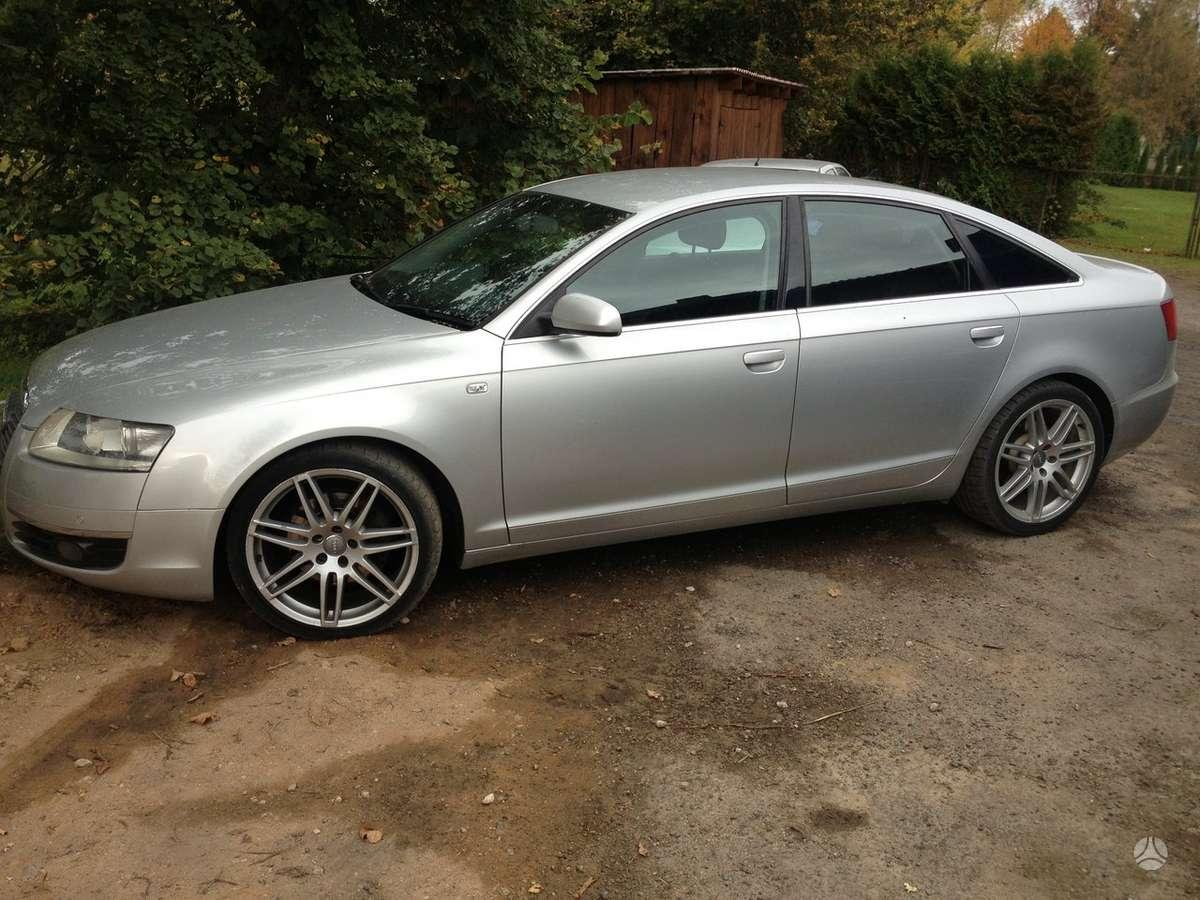 Audi A6 dalimis. Galimas detaliu pristatymas