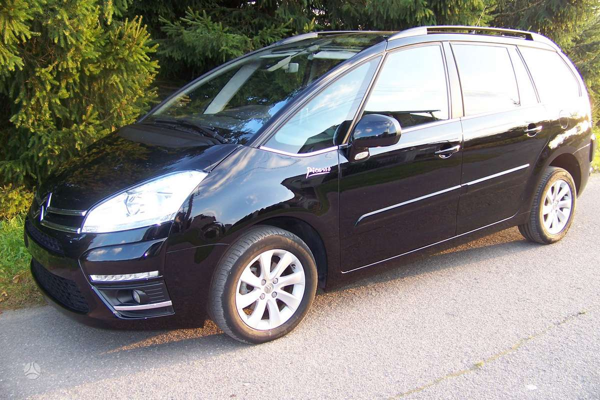 Citroen Grand C4 Picasso. Europa.   navy
